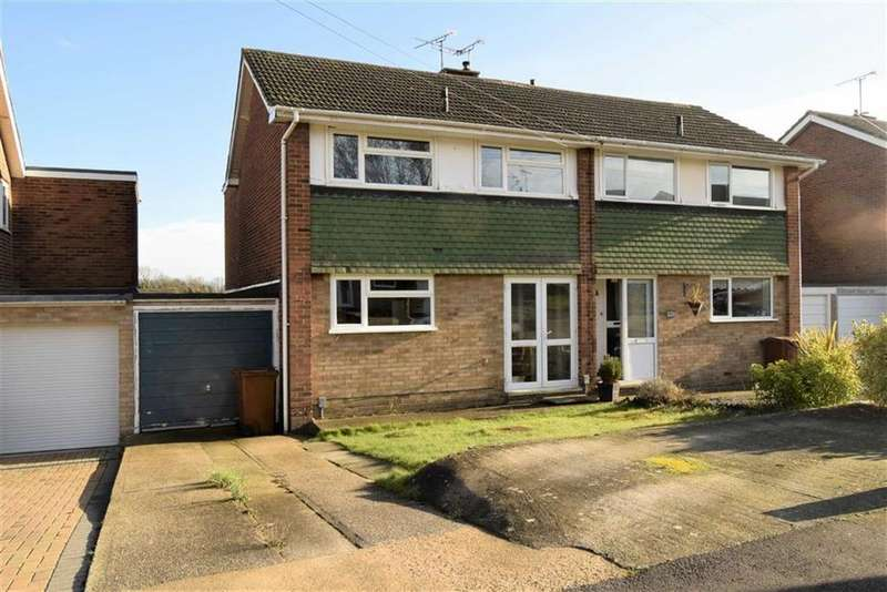 3 Bedrooms Semi Detached House for sale in Bettescombe Road, Rainham, Kent, ME8