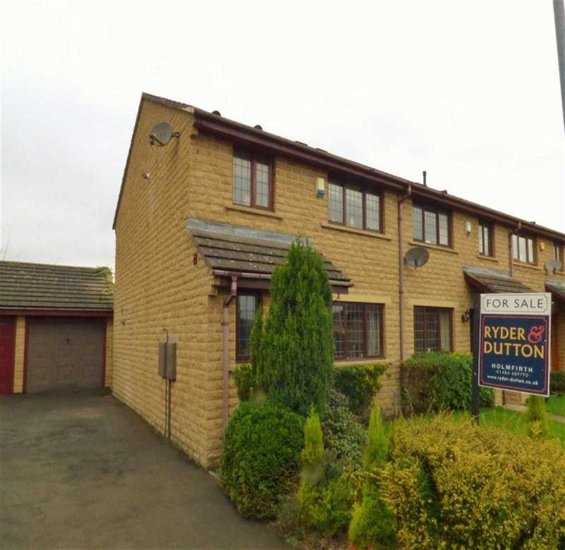 3 Bedrooms Town House for sale in Mill Close, Meltham, HOLMFIRTH, West Yorkshire, HD9