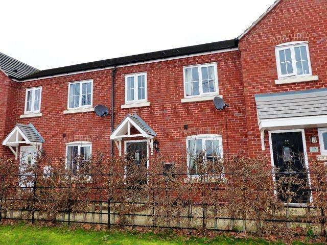 3 Bedrooms Terraced House for sale in Lakeside Boulevard,Cannock,Staffordshire