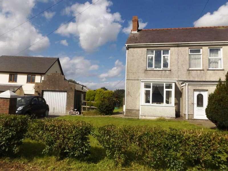 3 Bedrooms Semi Detached House for sale in Heol Llanelli, Pontyates Llanelli