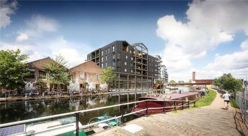 3 Bedrooms Apartment Flat for sale in Carpenters Wharf, Fish Island, E3