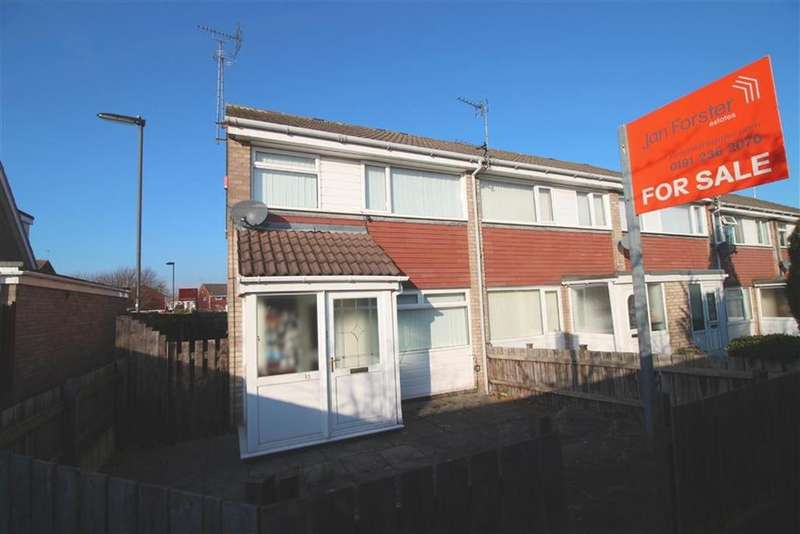 3 Bedrooms End Of Terrace House for sale in Hereford Court, Newcastle Upon Tyne, NE3