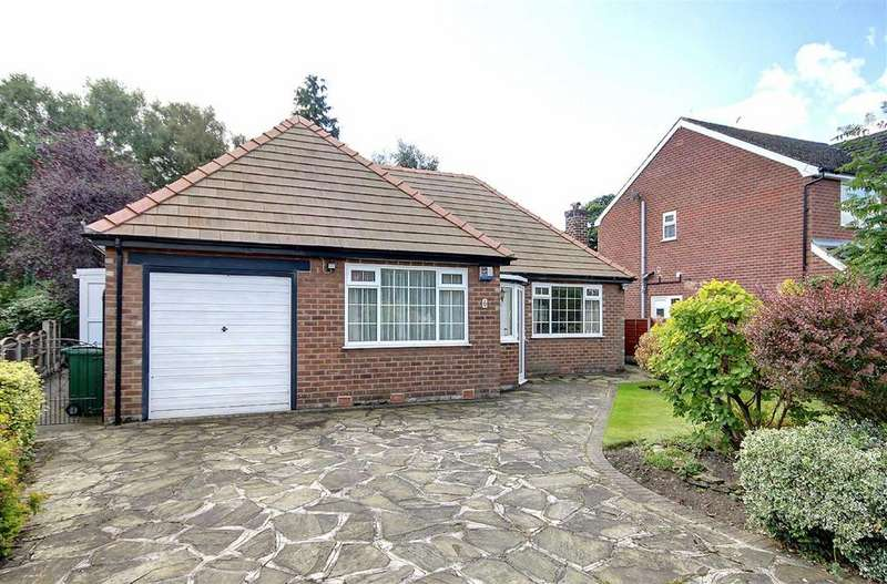 3 Bedrooms Detached Bungalow for sale in Marlfield Road, Hale Barns, Cheshire
