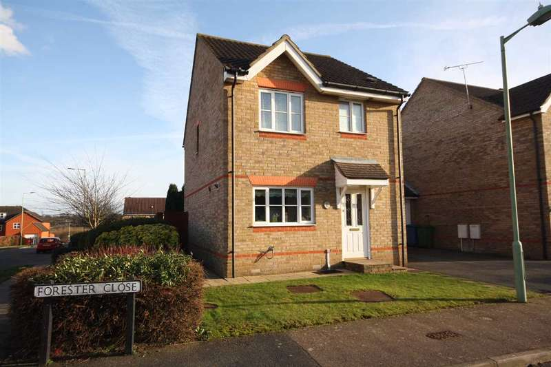 3 Bedrooms Link Detached House for sale in Forester Close, Pinewood
