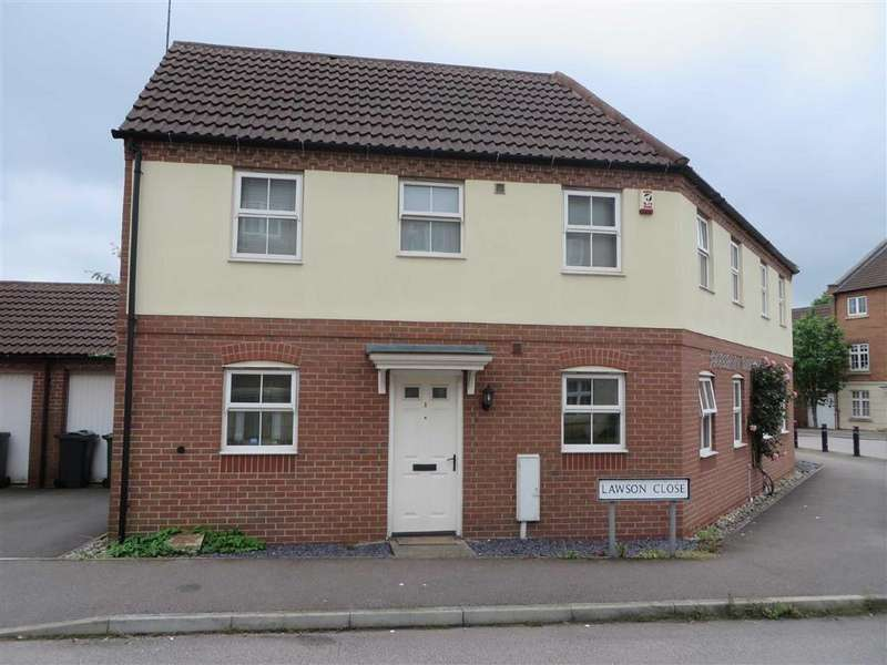 3 Bedrooms Semi Detached House for sale in Lawson Close, Sileby