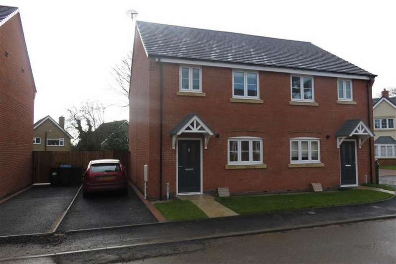 3 Bedrooms Semi Detached House for sale in Border Close, Glenfield