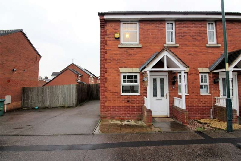 2 Bedrooms Semi Detached House for sale in Alderley Crescent, Walsall
