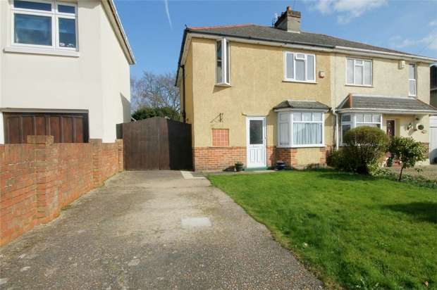 3 Bedrooms Semi Detached House for sale in Oakdale, Poole, Dorset