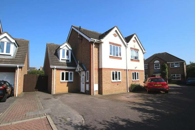 3 Bedrooms Semi Detached House for sale in Bedford Close, Ely