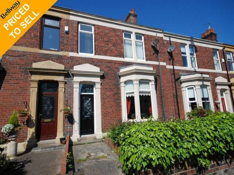 4 Bedrooms Terraced House for sale in Bede Burn Road, Jarrow