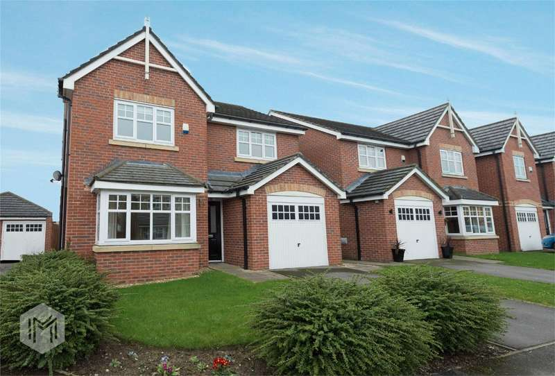 4 Bedrooms Detached House for sale in Priestfields, Leigh, Lancashire