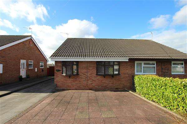 2 Bedrooms Bungalow for sale in Drake Close, Eaton Park, Stoke-on-Trent