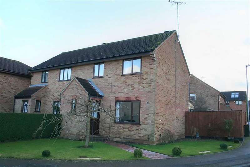 3 Bedrooms Semi Detached House for sale in The Brambles, Bar Hill, Cambridge