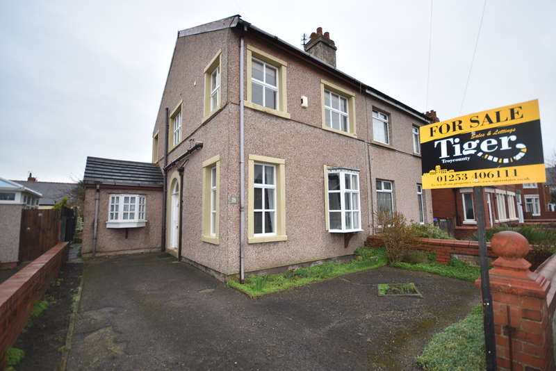 3 Bedrooms Semi Detached House for sale in Fenber Avenue, Blackpool