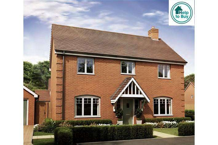 4 Bedrooms Detached House for sale in The Cotheridge at Spring Meadows, Stonebow Road, Pershore