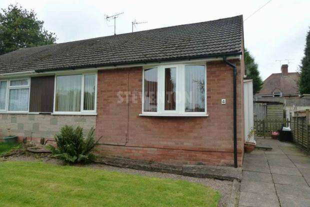 2 Bedrooms Semi Detached Bungalow for sale in LUTLEY CLOSE BRADMORE WOLVERHAMPTON