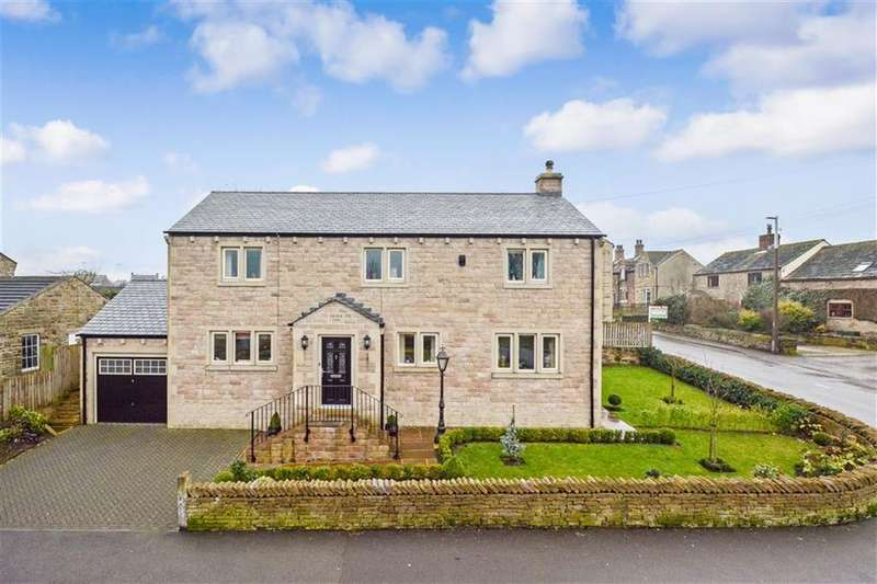 4 Bedrooms Detached House for sale in School Lane, Emley, HUDDERSFIELD, HD8