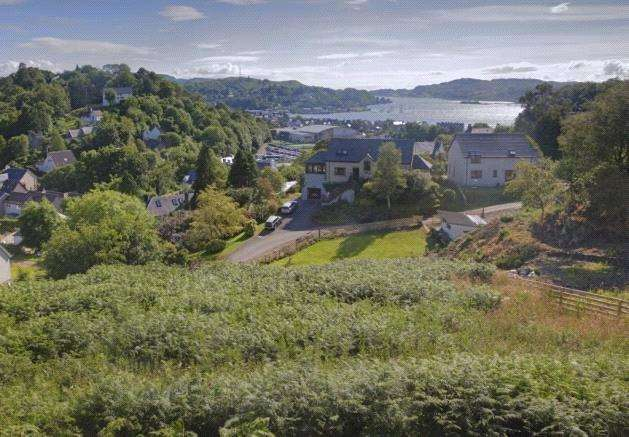 Plot Commercial for sale in Building Plot, Croft Road, Oban, PA34