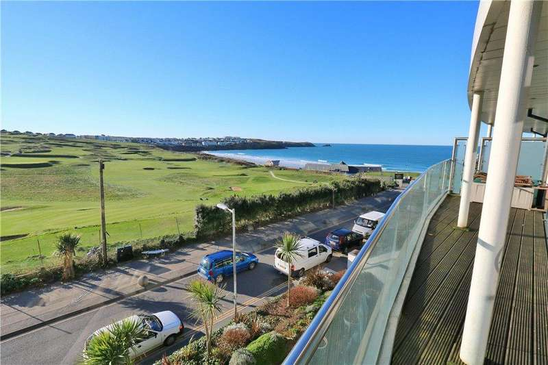 2 Bedrooms Apartment Flat for sale in 11 Pearl, Headland Road, Newquay, Cornwall