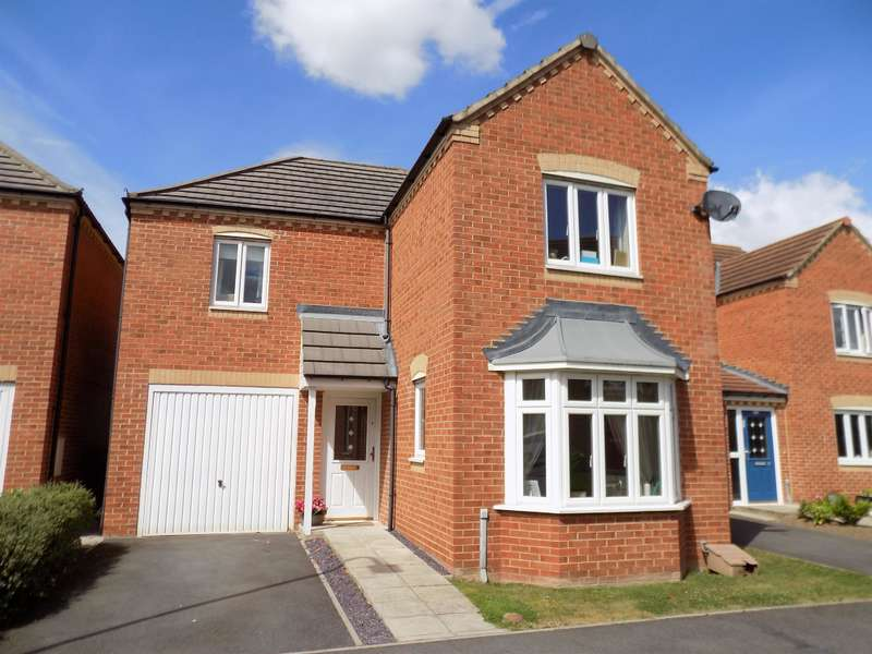 3 Bedrooms Detached House for sale in Barberry, Coulby Newham, Middlesbrough, TS8 0WB