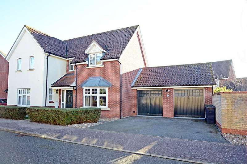4 Bedrooms Detached House for sale in Tuffs Road, Eye