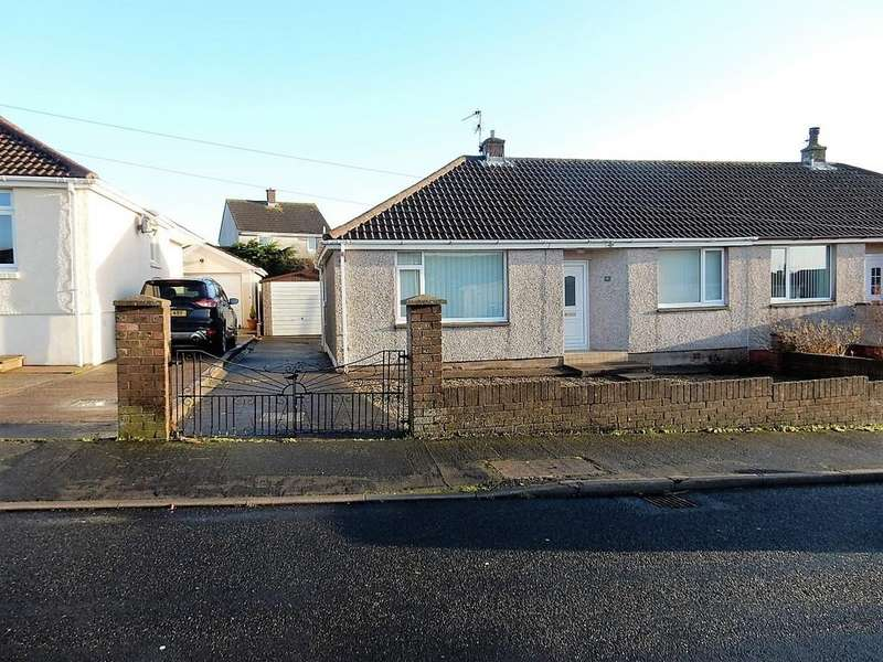 2 Bedrooms Semi Detached Bungalow for sale in Milburn Croft, Seaton