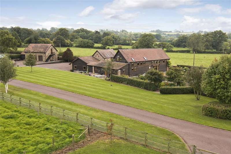 5 Bedrooms Barn Conversion Character Property for sale in Middleton On The Hill, Nr Ludlow, Herefordshire