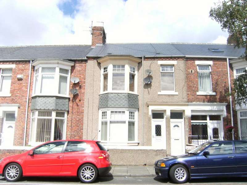 2 Bedrooms Flat for sale in Spohr Terrace, South Shields