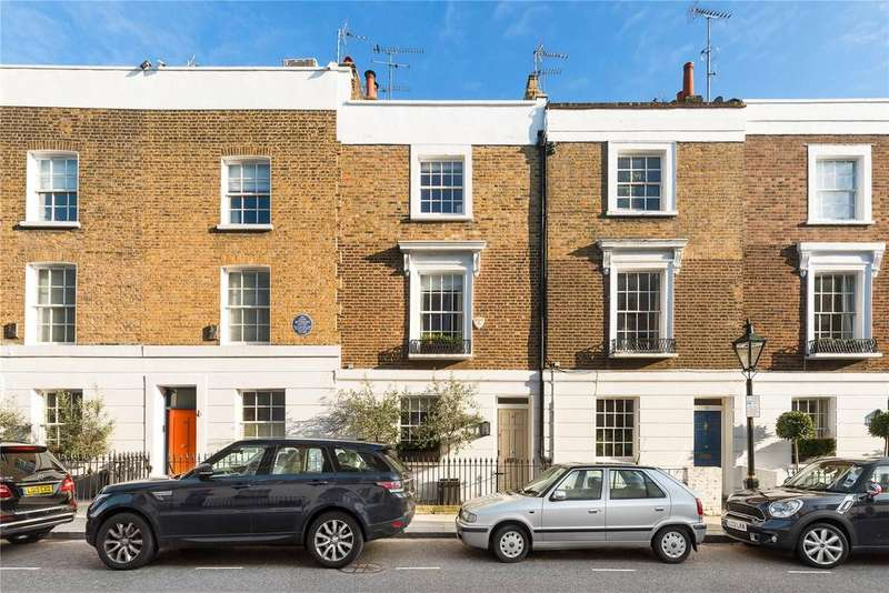 4 Bedrooms Terraced House for sale in Radnor Walk, London