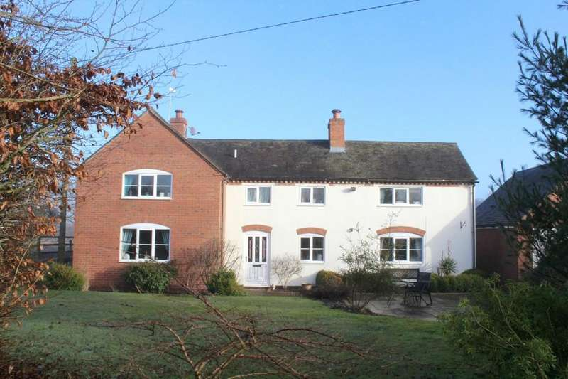 4 Bedrooms Detached House for sale in Higher Heath, Whitchurch