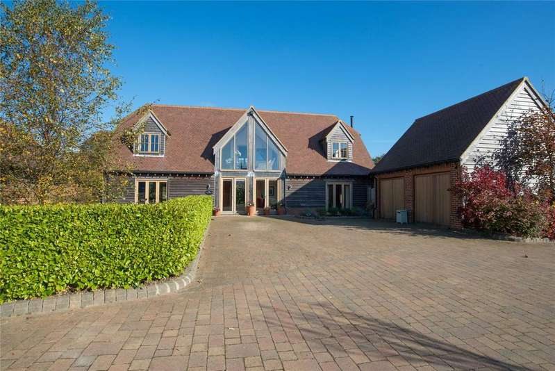 4 Bedrooms Detached House for sale in Little Densole Farm, Canterbury Road, Densole, Kent