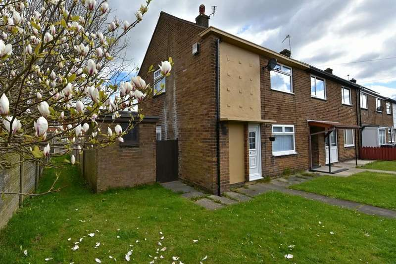 2 Bedrooms End Of Terrace House for sale in Willow Drive, Skelmersdale
