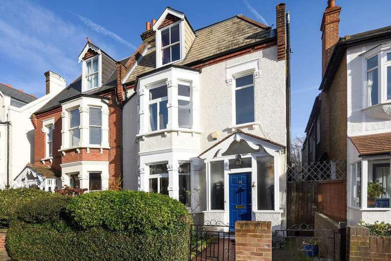 5 Bedrooms Semi Detached House for sale in Home Park Road, Wimbledon , SW19