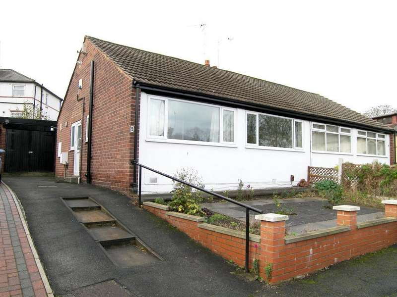 2 Bedrooms Semi Detached Bungalow for sale in Armley Ridge Close, Leeds