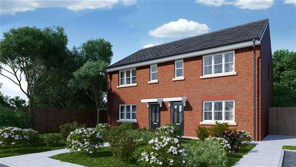 3 Bedrooms Mews House for sale in 'CONISTON' Vicarage Gardens, Platt Bridge