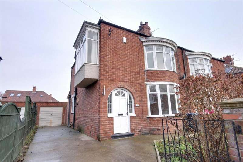 3 Bedrooms Semi Detached House for sale in Melrose Avenue, Linthorpe