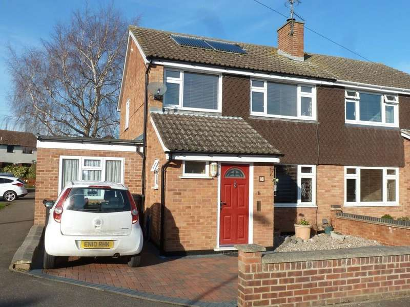3 Bedrooms Semi Detached House for sale in Eliot Way, Maldon