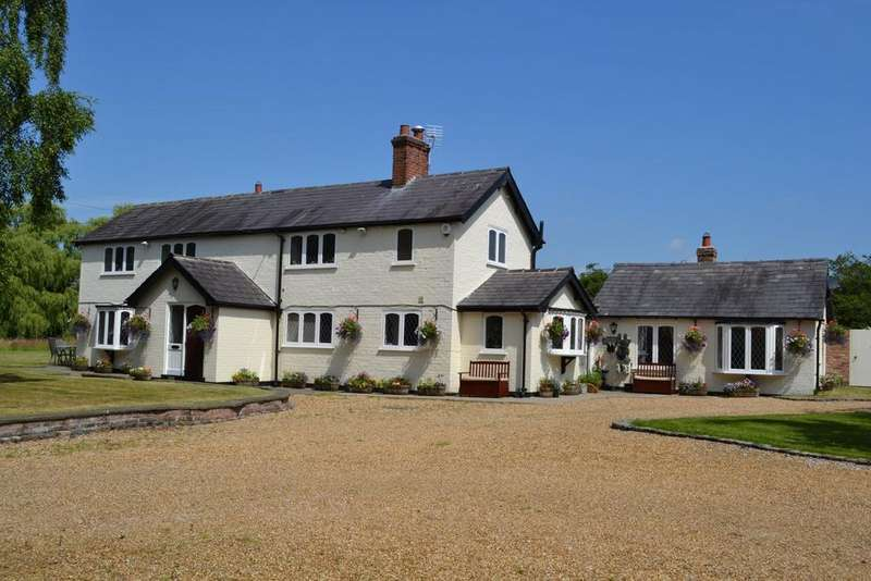 4 Bedrooms Detached House for sale in Moss Lane, Ollerton, Knutsford