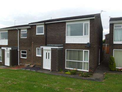2 Bedrooms Flat for sale in Norburn Park, Witton Gilbert, Durham, Durham, DH7