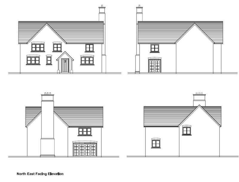 Land Commercial for sale in Plot For 4 Bed Detached, Moss Lane, Eaton