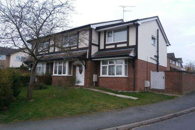 3 Bedrooms Semi Detached House for sale in Windsor Avenue, Groby, Leicester, LE6