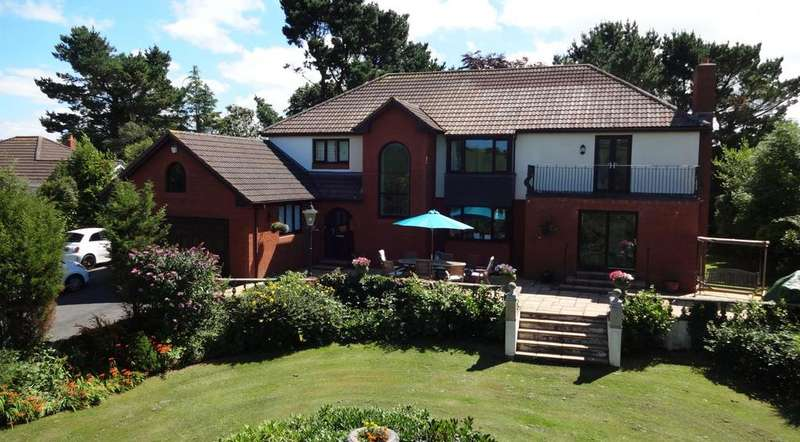 5 Bedrooms Detached House for sale in Lynbro Road, Barnstaple