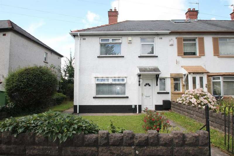 3 Bedrooms End Of Terrace House for sale in Cowbridge Road West, Ely, Cardiff