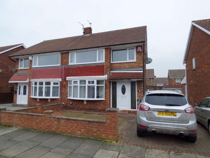 3 Bedrooms Semi Detached House for sale in Bracken Road, Stockton-On-Tees, TS19