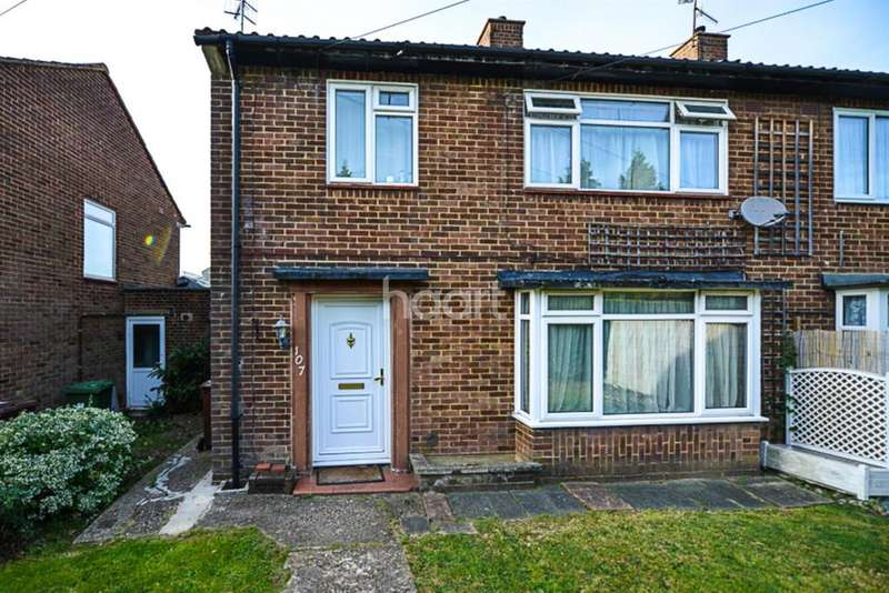 3 Bedrooms Semi Detached House for sale in Hillside Avenue, Borehamwood