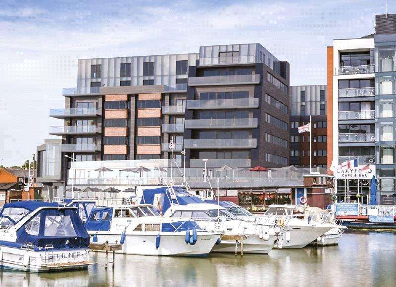 1 Bedroom Flat for sale in One The Brayford, Brayford Wharf North, LN1