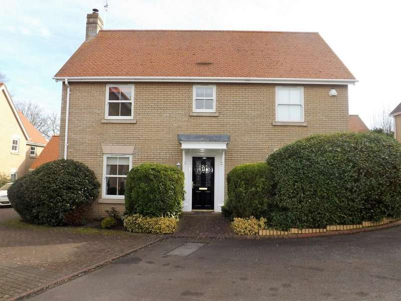 4 Bedrooms Detached House for sale in Lion Court, Haddenham, Ely