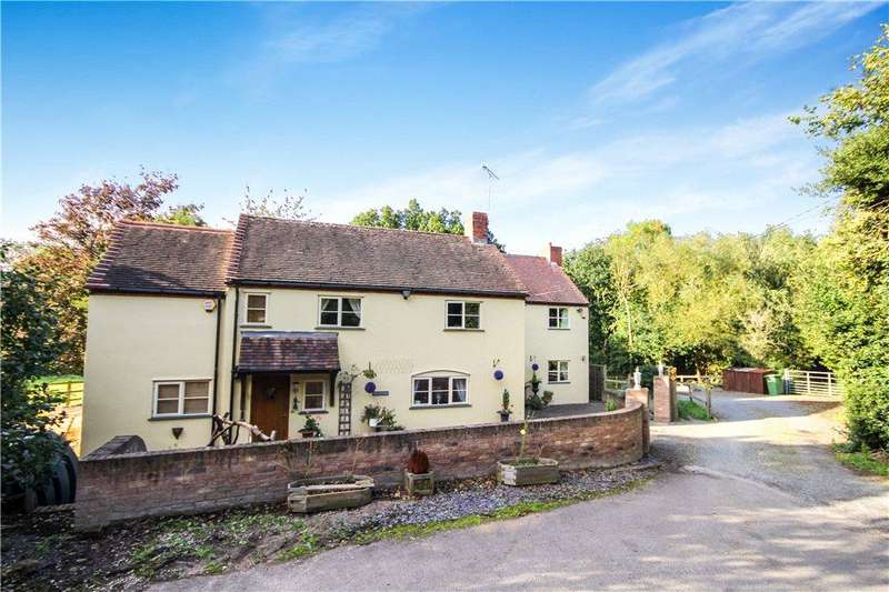 4 Bedrooms Detached House for sale in Yarningale Lane, Yarningale Common, Warwick, Warwickshire, CV35