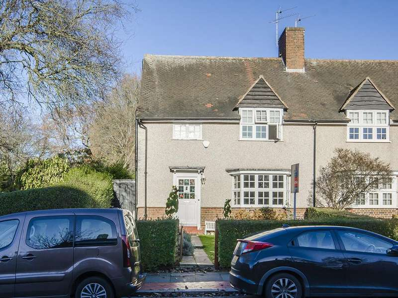 4 Bedrooms Semi Detached House for sale in Hill Top, Hampstead Garden Suburb, NW11