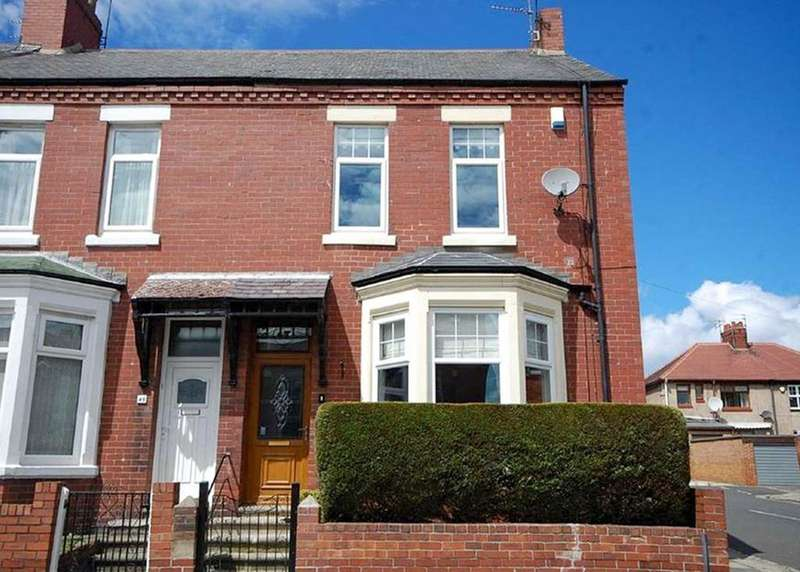 3 Bedrooms Terraced House for sale in Hepscott Terrace, South Shields